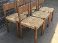Charlotte PERRIAND Chaises Meribel