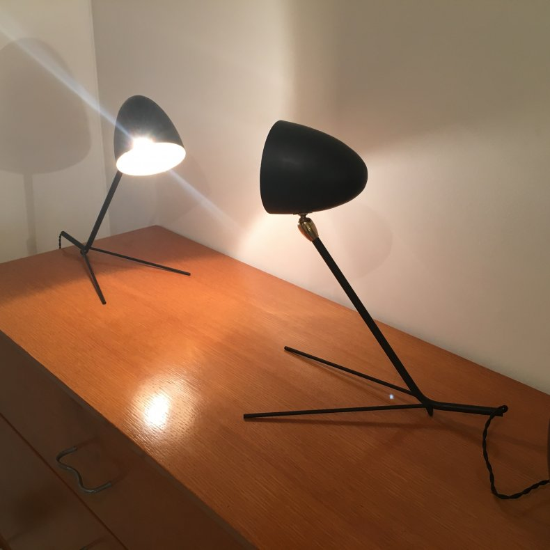 Serge MOUILLE Lampes Cocotte